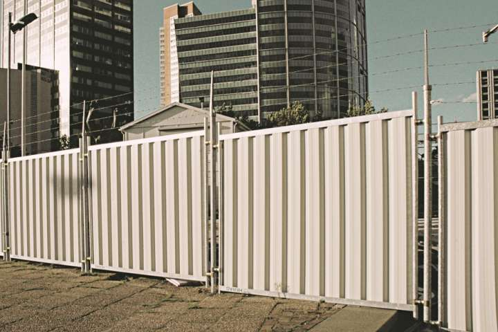 Purchase Heras closed construction fences