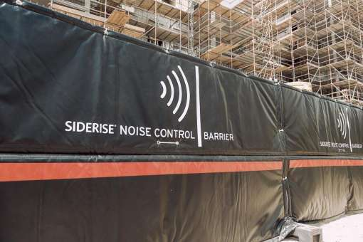 Effectively reducing noise pollution from temporary construction sites