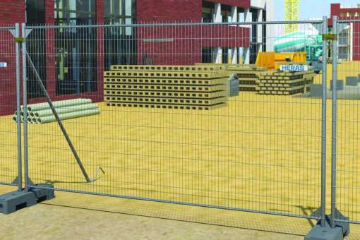 Anti-Climb mobile fencing